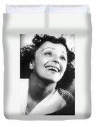 Edith Piaf Duvet Cover