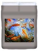 Fish Reflections Duvet Cover