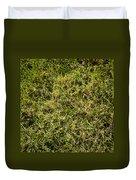 Green Square Duvet Cover
