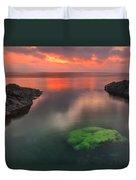 Hidden Green Duvet Cover