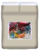 Landscape Sketch27 Duvet Cover