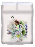 Little Wind Dancer Duvet Cover