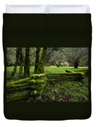 Mossy Fence 2 Duvet Cover