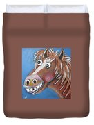 Mr Horse Duvet Cover