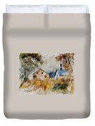 Old Chapel In Herhet Duvet Cover