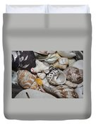 She Sells Seashells Duvet Cover