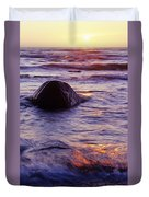 Sunset Lights Duvet Cover