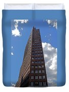 The Kollhoff-tower ...  Duvet Cover by Juergen Weiss