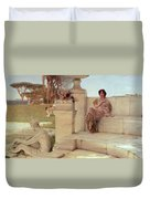 The Voice Of Spring Duvet Cover by Sir Lawrence Alma-Tadema