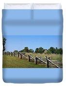 View Of Clover Hill Tavern Appomattox Court House Virginia Duvet Cover by Teresa Mucha