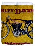 Vintage Harley Davidson Duvet Cover