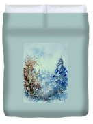 Watercolor  010307 Duvet Cover