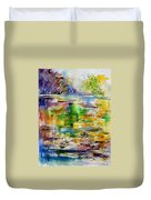 Watercolor 6878 Duvet Cover