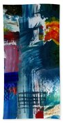 Abstract Color Relationships L Bath Towel