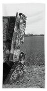 Route 66 - Cadillac Ranch Bath Towel