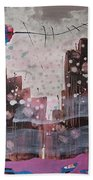 Cityscape Hand Towel