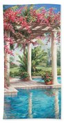 Poolside Garden Bath Towel