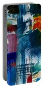 Abstract Color Relationships L Portable Battery Charger