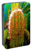 Backlit Cactus Portable Battery Charger