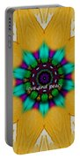Love And Peace Art Portable Battery Charger