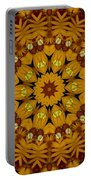 Popart Flowers Portable Battery Charger