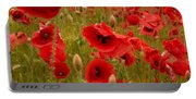 Red Poppies 4 Portable Battery Charger