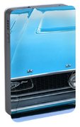 1968 Mustang Fastback Hood Portable Battery Charger