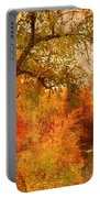 Autumn Pathways Portable Battery Charger