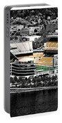 Heinz Field Portable Battery Charger by Scott Wyatt