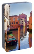 Late Afternoon In Venice Portable Battery Charger