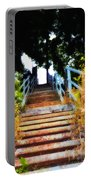 Manayunk Steps Portable Battery Charger by Bill Cannon