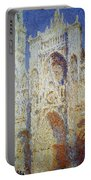 Monet: Rouen Cathedral Portable Battery Charger