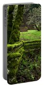 Mossy Fence 2 Portable Battery Charger by Bob Christopher