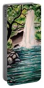 Mystical Waterfall Portable Battery Charger