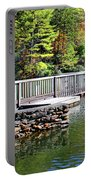 Peaceful Pier Portable Battery Charger