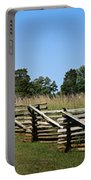 View Of Clover Hill Tavern Appomattox Court House Virginia Portable Battery Charger by Teresa Mucha