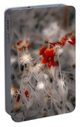 Wildflowers Of The Dunes Portable Battery Charger