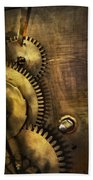 Steampunk - Toothy  Beach Towel