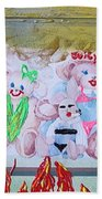 Bad Bears Beach Towel