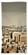Los Angeles City Hall Beach Towel