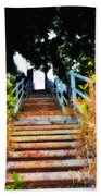 Manayunk Steps Beach Sheet