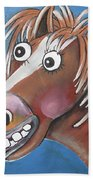 Mr Horse Beach Towel