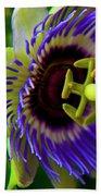 Passion-fruit Flower Beach Sheet