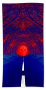 The Blue Avenue Beach Towel