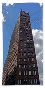 The Kollhoff-tower ...  Beach Towel by Juergen Weiss
