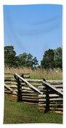 View Of Clover Hill Tavern Appomattox Court House Virginia Beach Towel by Teresa Mucha