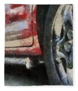 Car Rims 02 Photo Art 03 Fleece Blanket