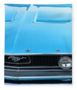 1968 Mustang Fastback Hood Fleece Blanket