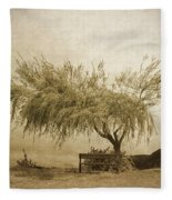 A Sky The Colour Of Memory Fleece Blanket