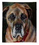 Boo For Dogtown Fleece Blanket